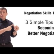 Negotiation Skills 3 Simple Tips On How To Negotiate